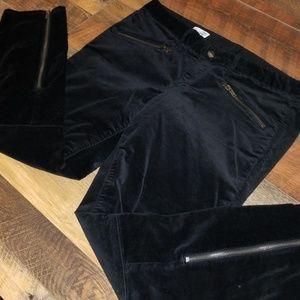 GAP 1969 Black velvet pants EUC never worn